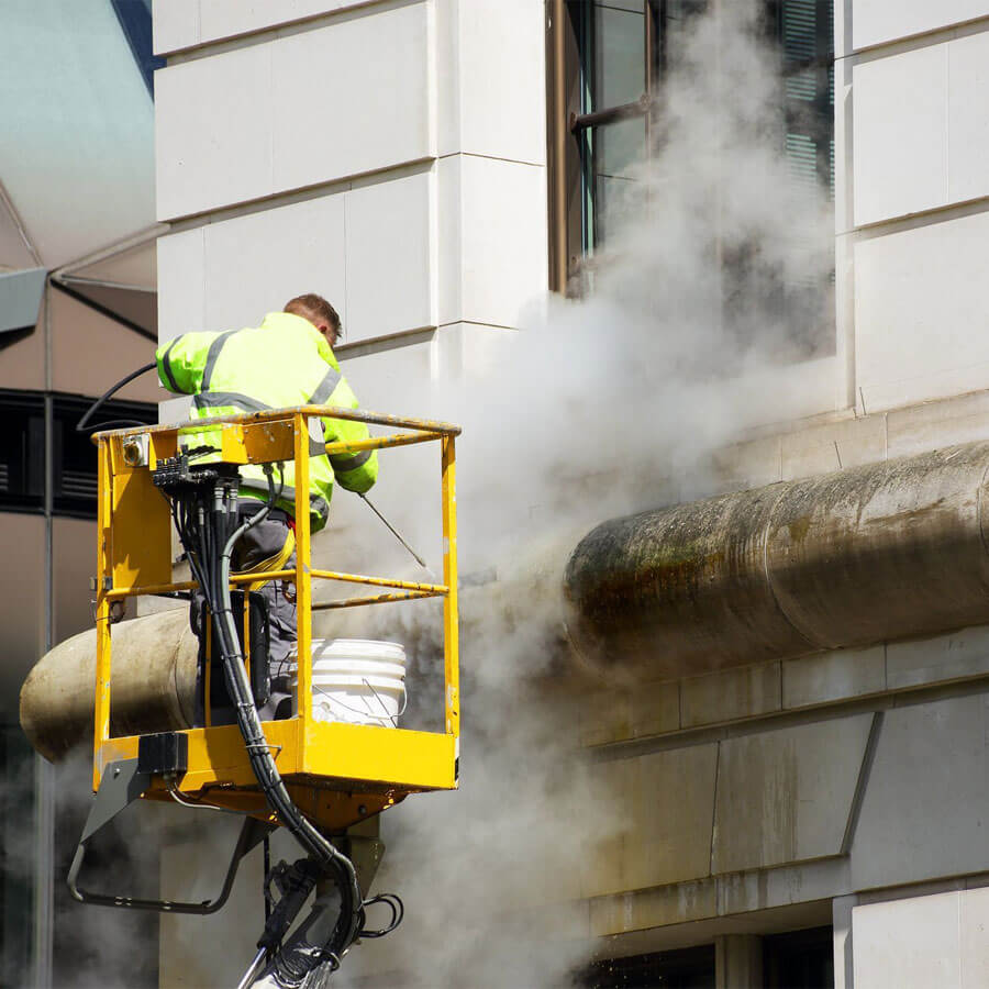 High Pressure Jet Washing
