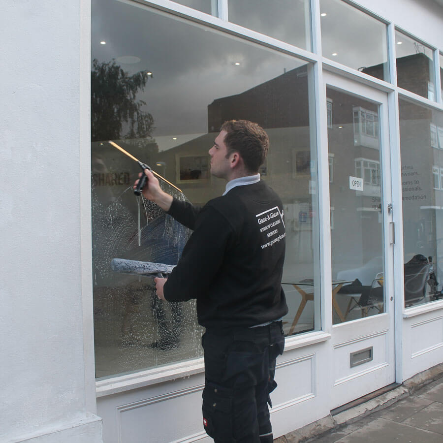 Retail Window Cleaning